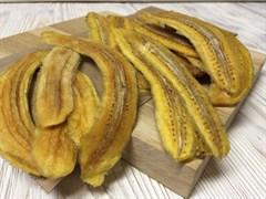 Банан сушеный ломтики