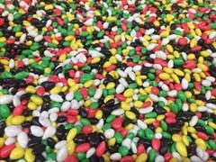 Семечки в разноцветной глазури