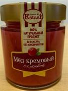 Крем-мед с клюквой