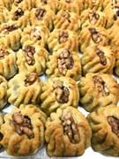 Финиковое печенье с грецким орехом